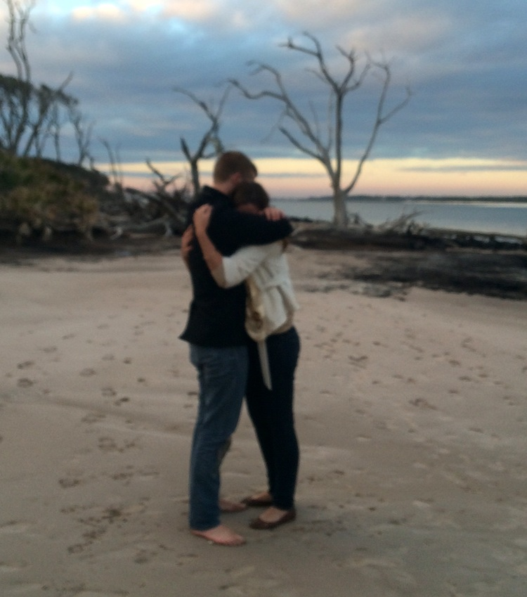 Image 7 of Christie and Alex | Engaged at Driftwood Beach