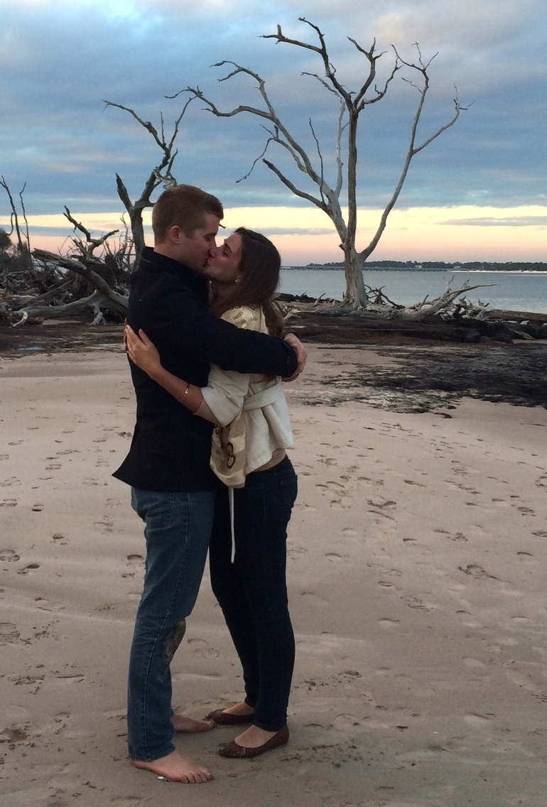 Image 11 of Christie and Alex | Engaged at Driftwood Beach