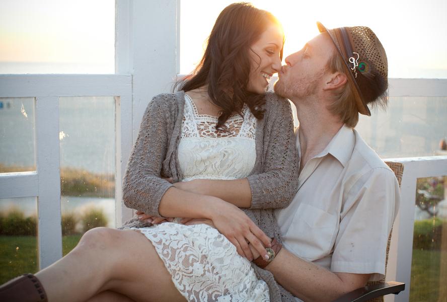 Image 1 of Seth and Erinda | Beachy Engagement Shoot