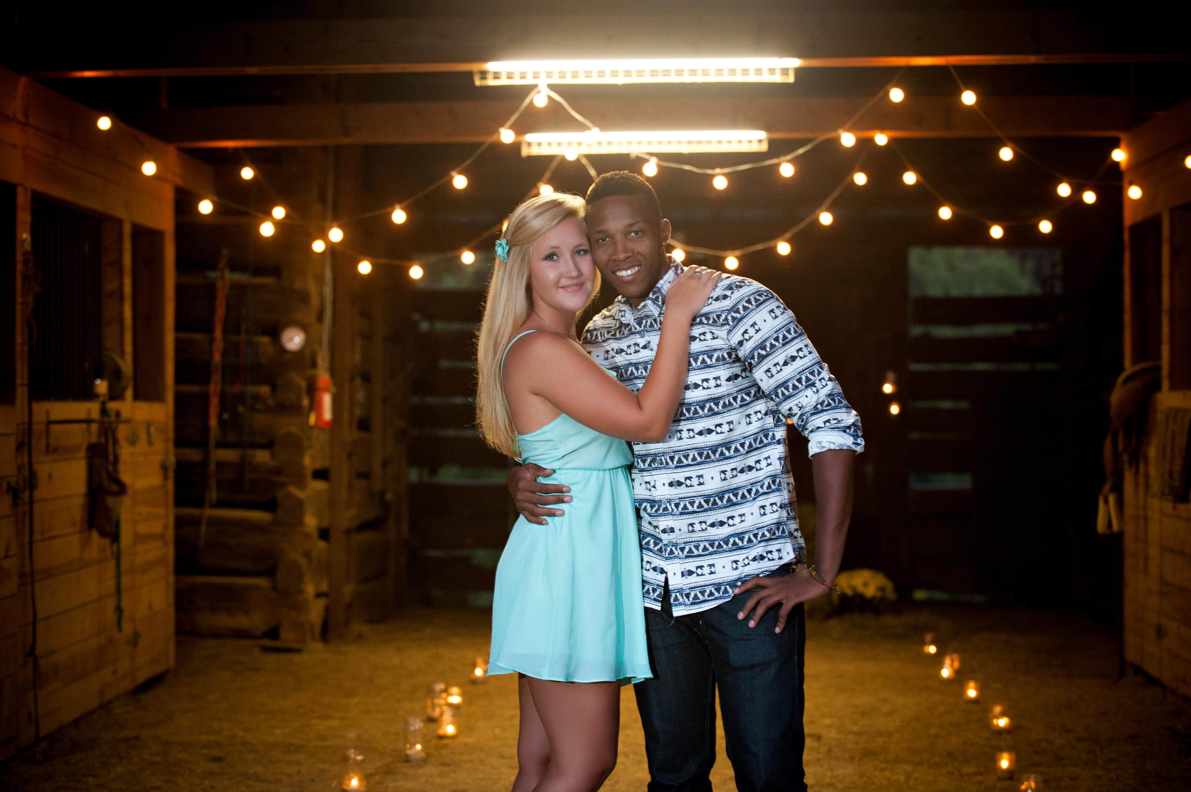 Image 6 of Jessica and De'Angelo | Barn-Style Proposal