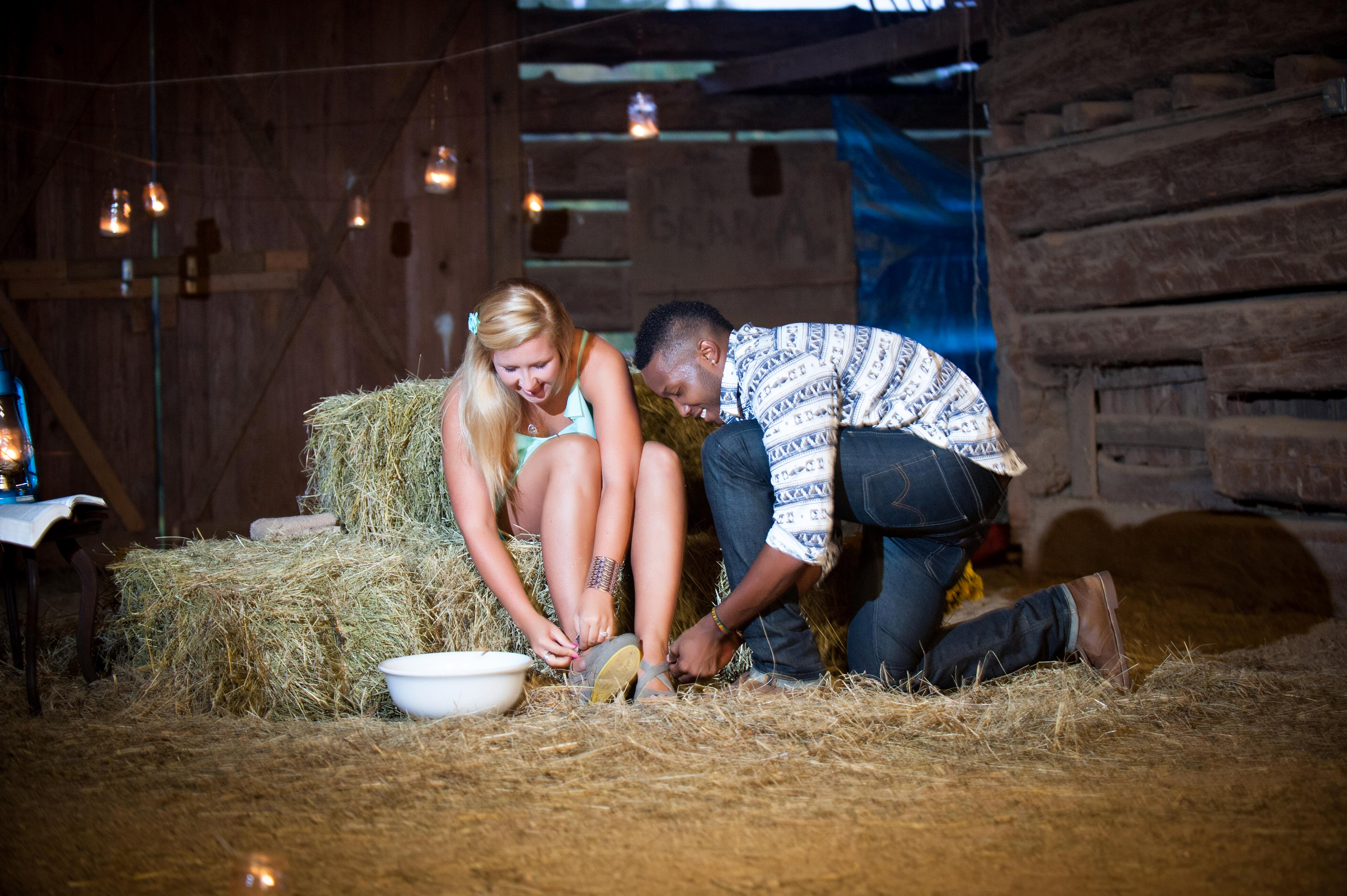 Image 12 of Jessica and De'Angelo | Barn-Style Proposal
