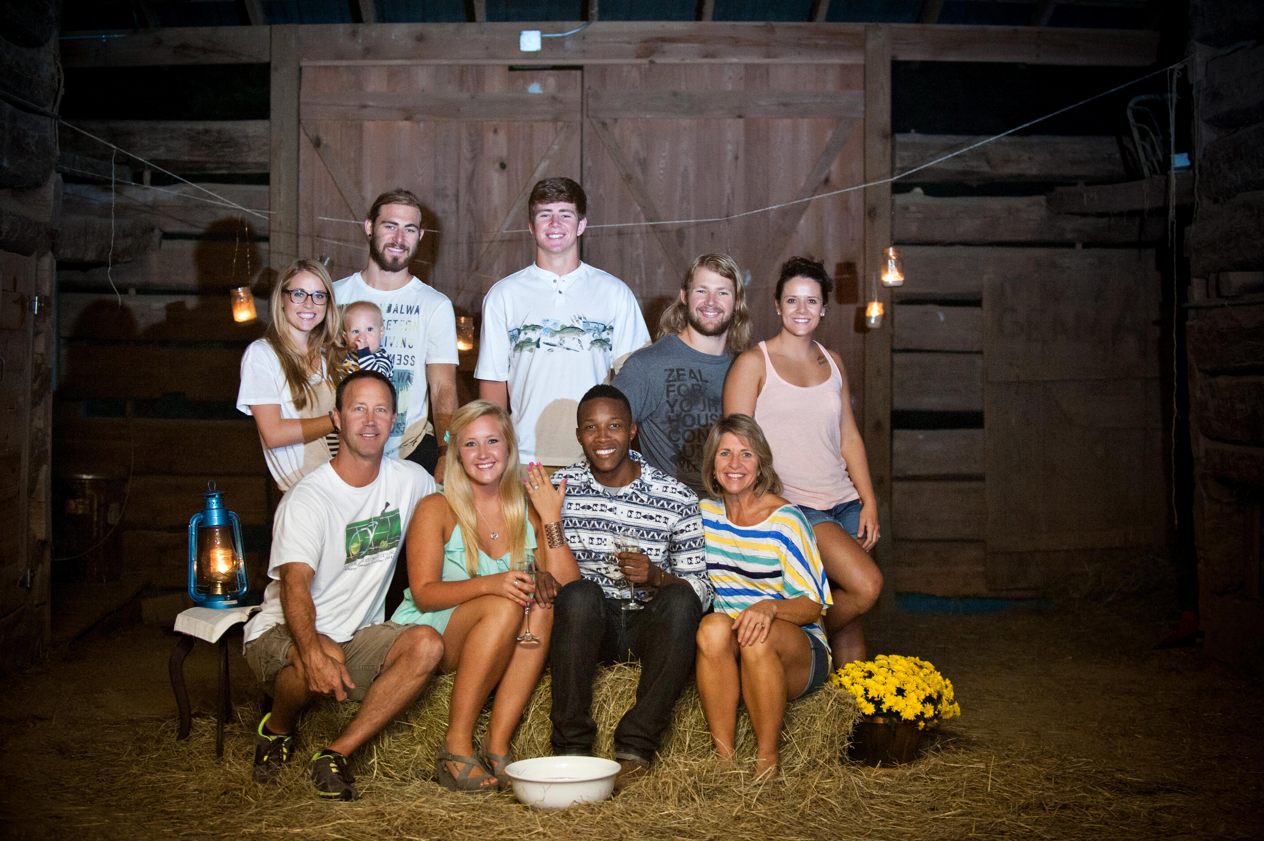 Image 21 of Jessica and De'Angelo | Barn-Style Proposal