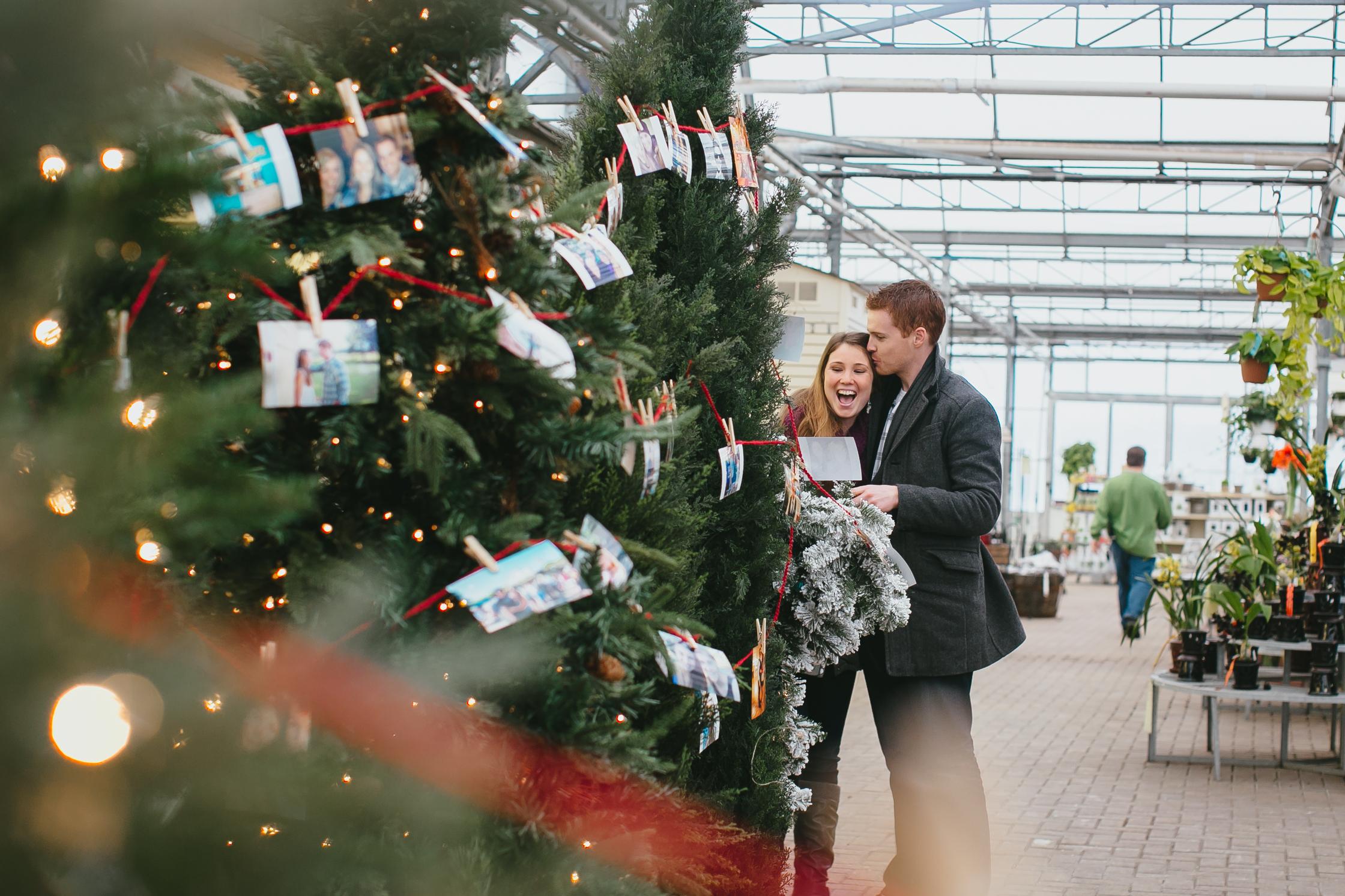 engaged at christmas