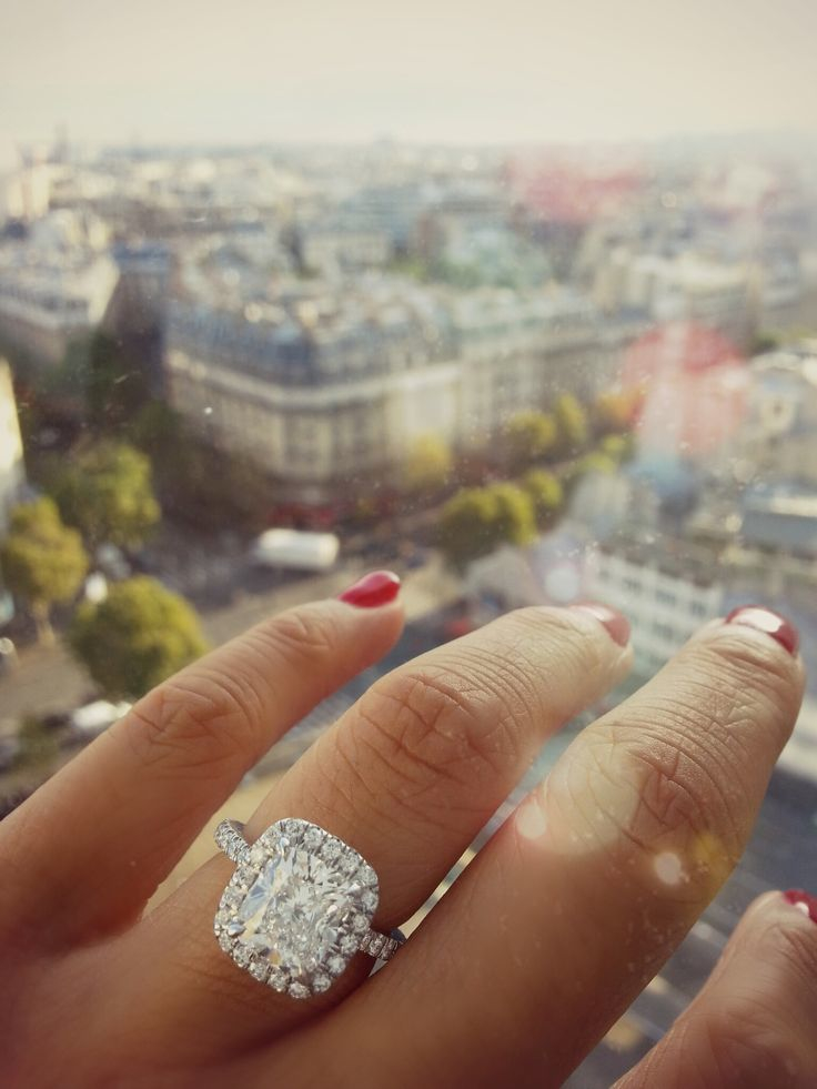 Image 1 of Catherine and Jason | Engaged in Paris