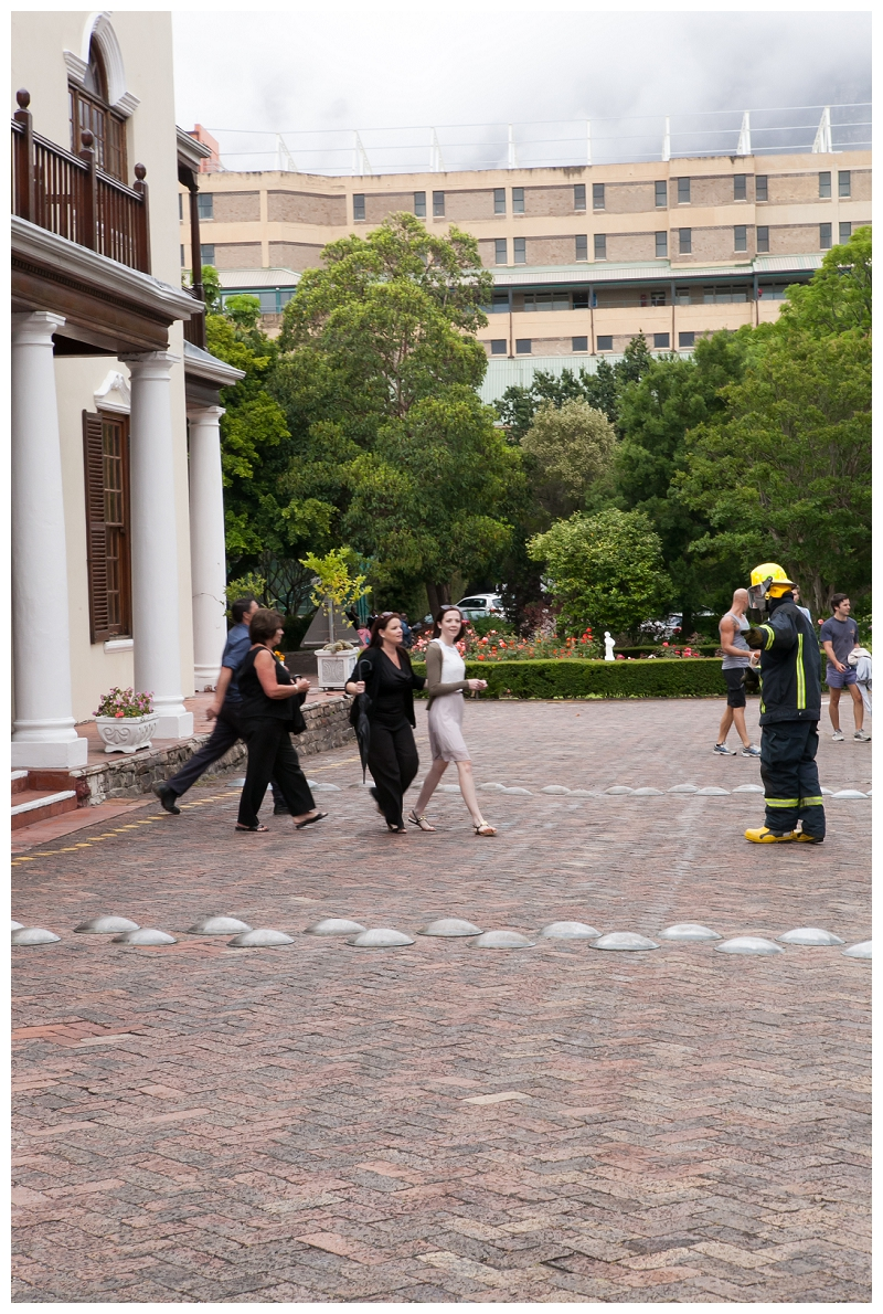 Image 3 of Firefighter Marriage Proposal