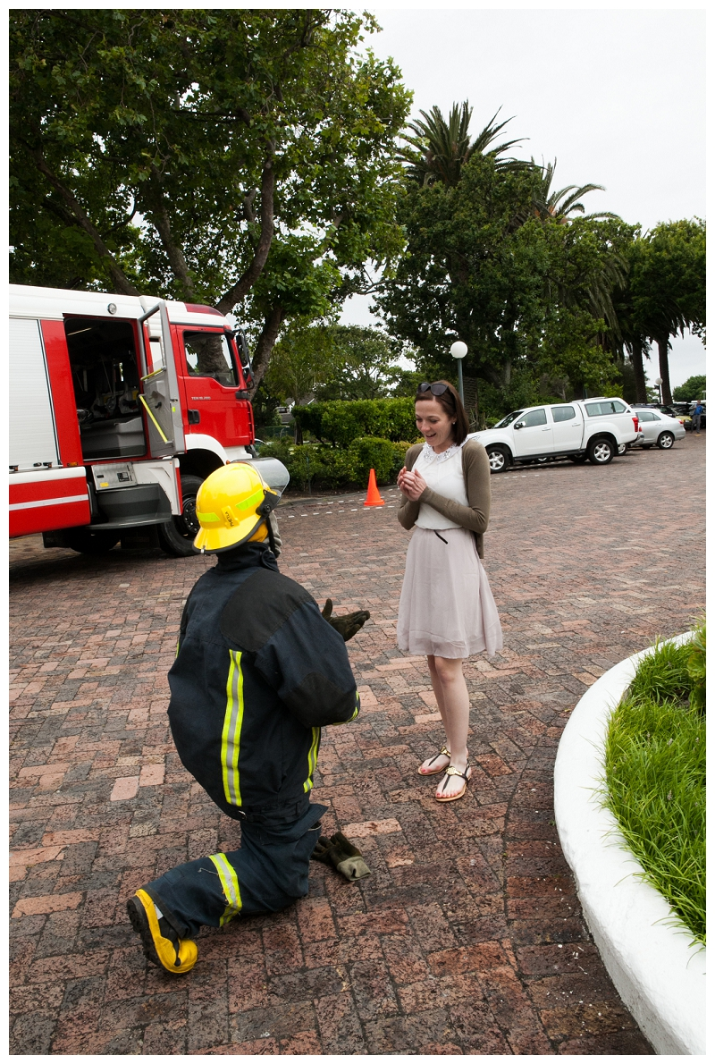 Image 9 of Firefighter Marriage Proposal