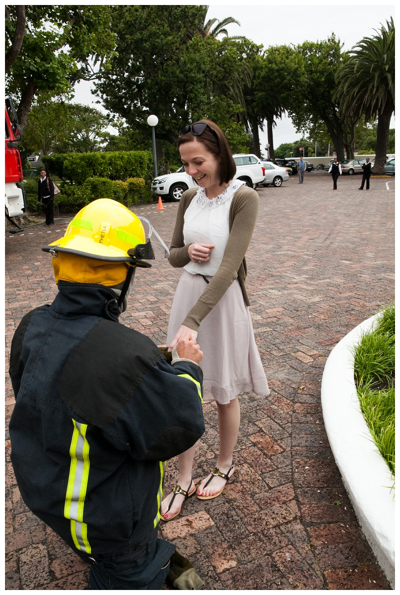 Image 11 of Firefighter Marriage Proposal