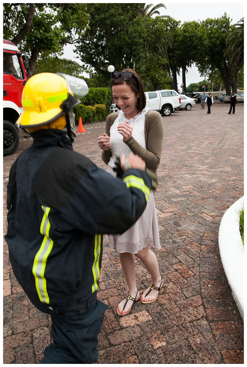 Image 12 of Firefighter Marriage Proposal