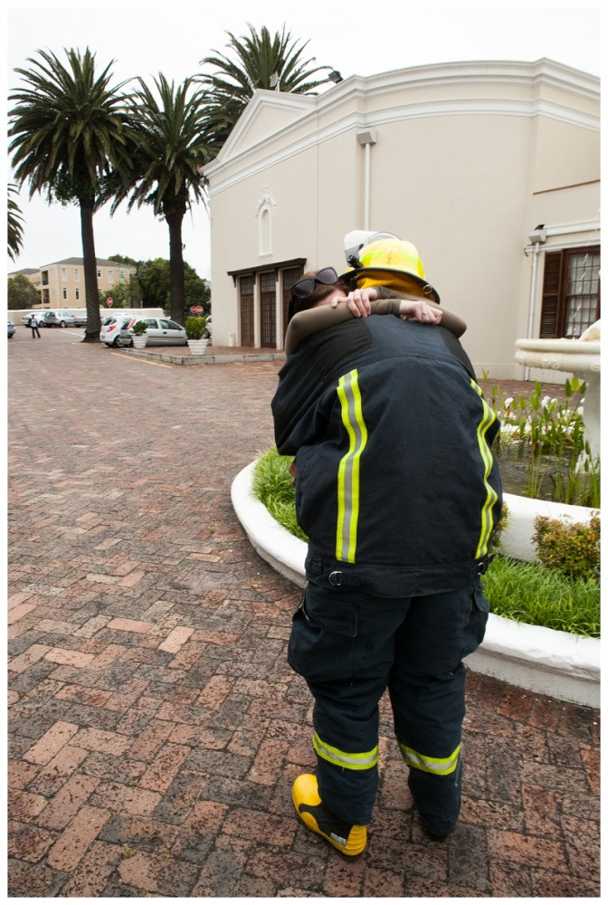 Firefighter Marriage Proposal