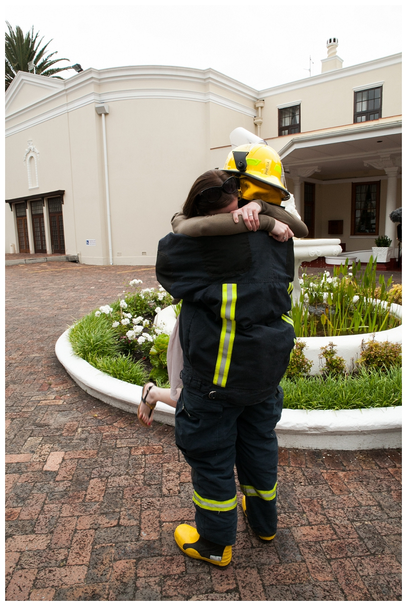 Image 14 of Firefighter Marriage Proposal