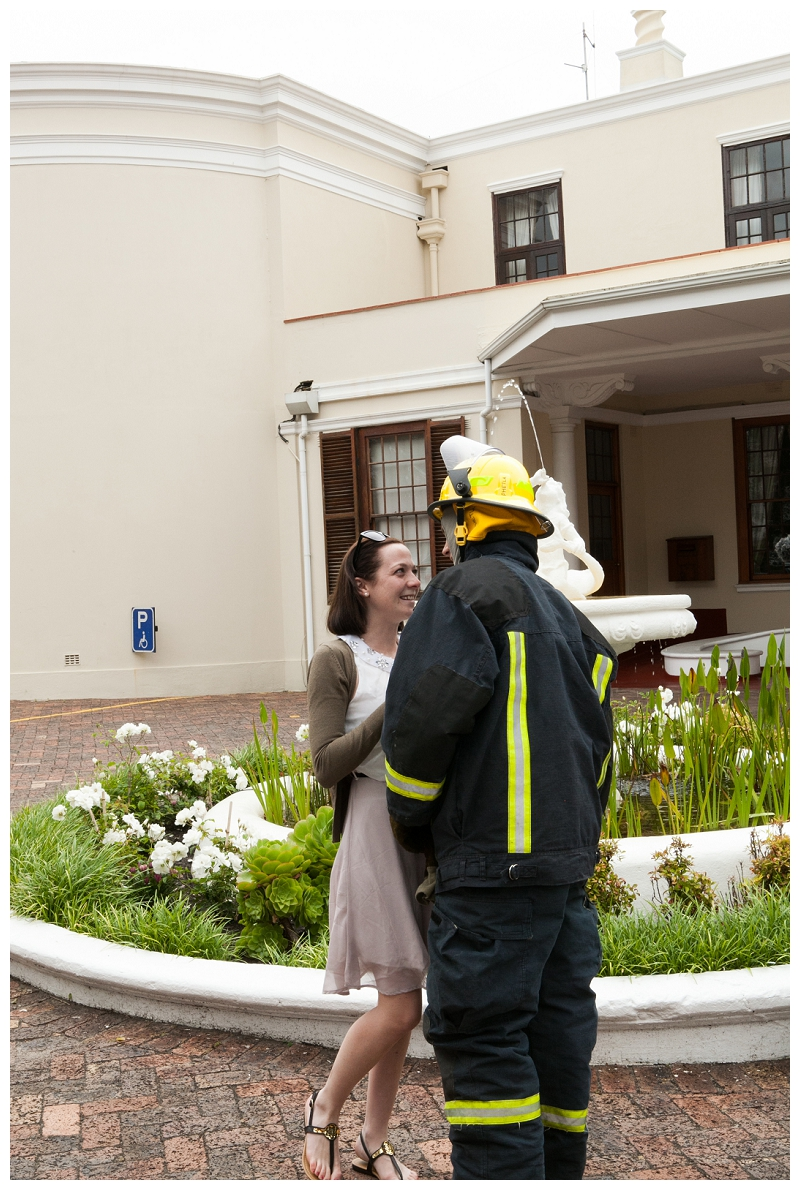 Image 15 of Firefighter Marriage Proposal
