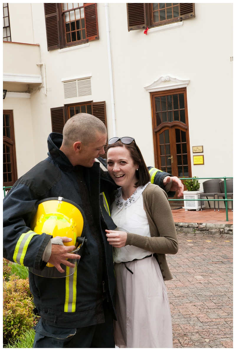 Image 16 of Firefighter Marriage Proposal