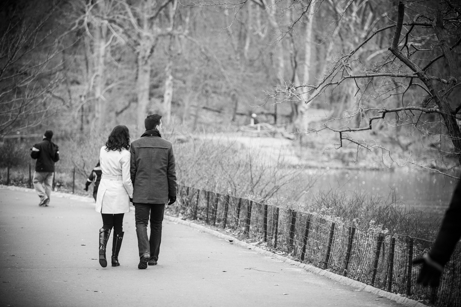 Image 1 of Marriage Proposal in Central Park | Matthieu and Sam