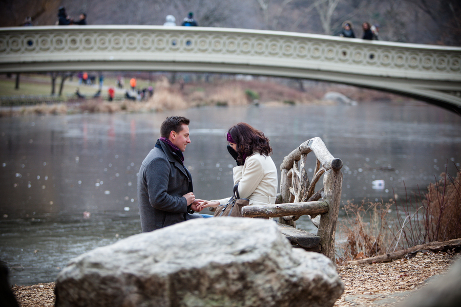 Image 4 of Marriage Proposal in Central Park | Matthieu and Sam