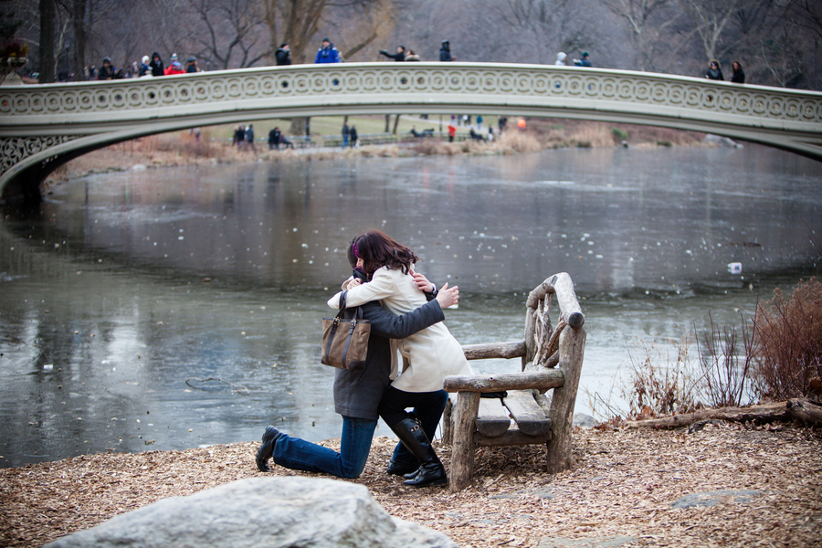 Image 6 of Marriage Proposal in Central Park | Matthieu and Sam