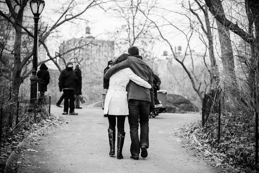 Image 11 of Marriage Proposal in Central Park | Matthieu and Sam