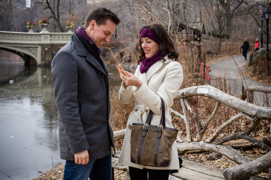 Image 8 of Marriage Proposal in Central Park | Matthieu and Sam