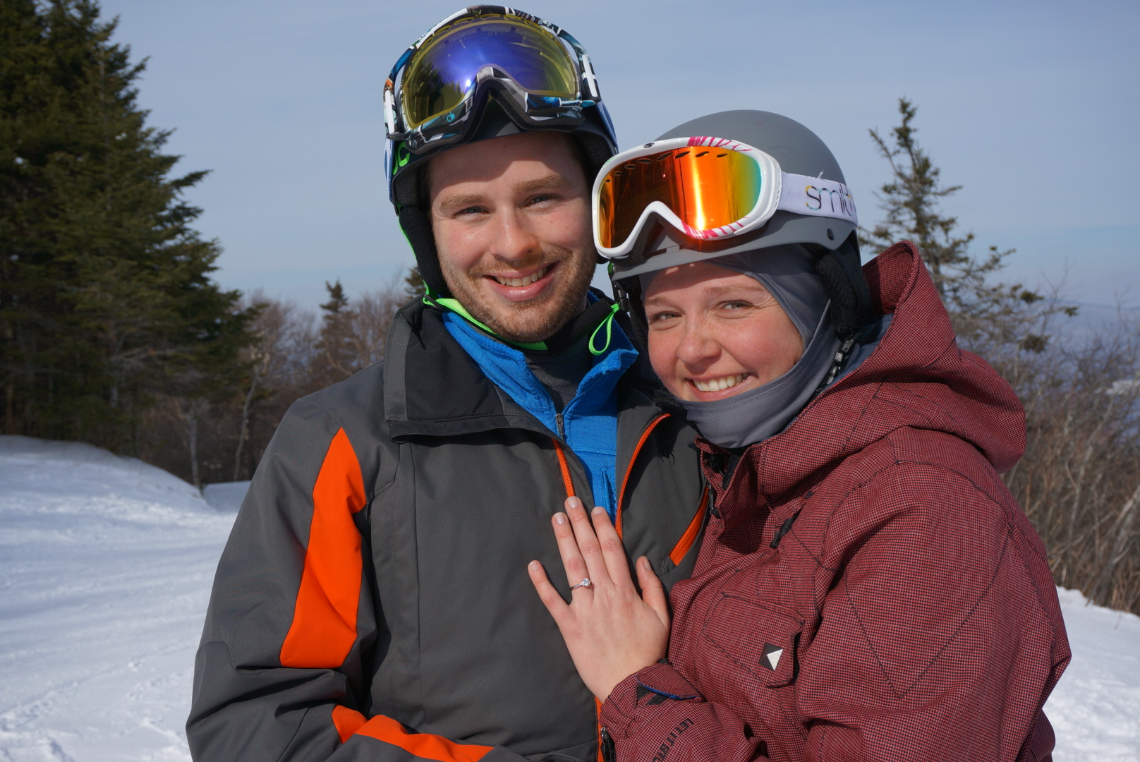 Image 11 of Sarah and Jimmy | The Perfect Mountaintop Proposal
