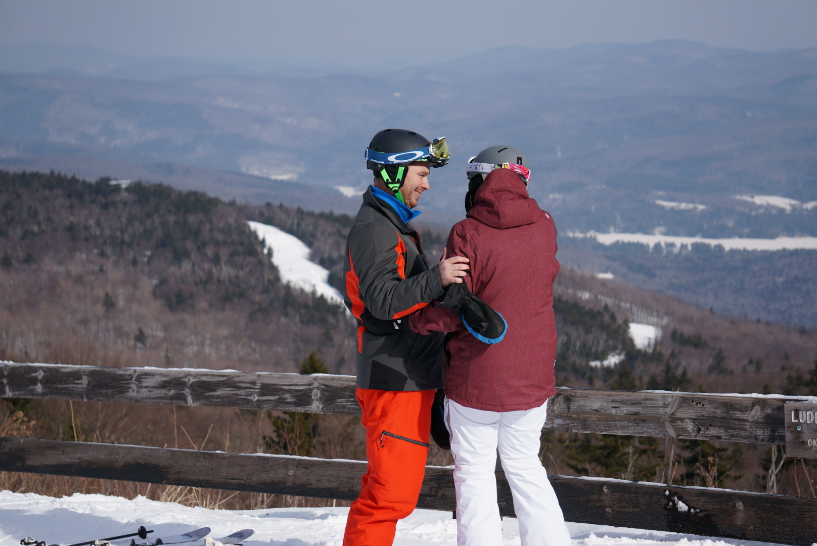 Image 2 of Sarah and Jimmy | The Perfect Mountaintop Proposal