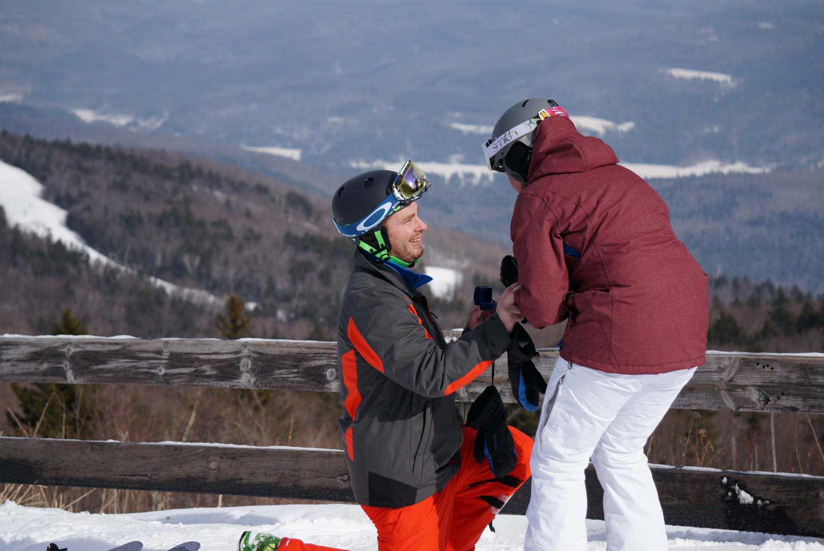 Image 5 of Sarah and Jimmy | The Perfect Mountaintop Proposal