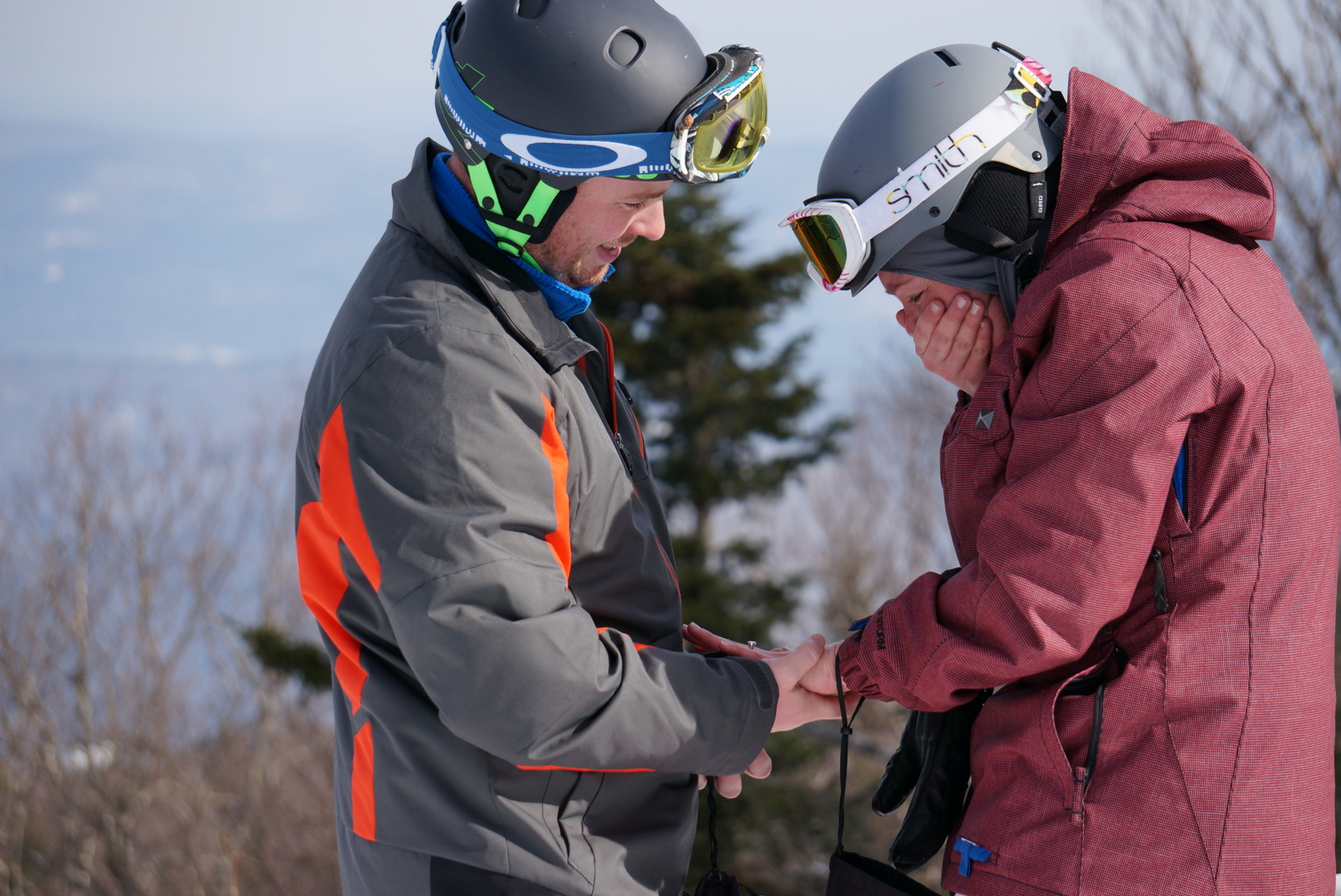 Image 9 of Sarah and Jimmy | The Perfect Mountaintop Proposal