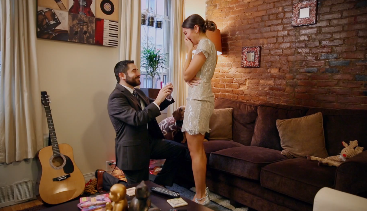 Image 1 of Lisa Marie and Andrew | Surprise Proposal in New York City