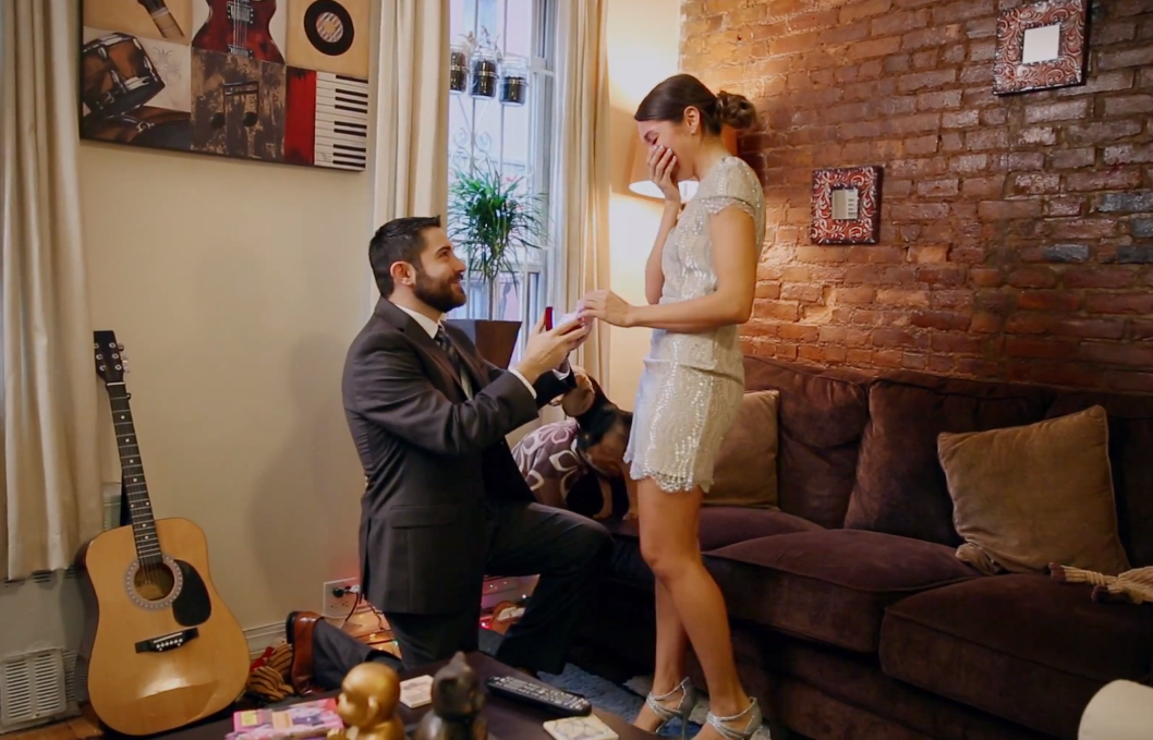 Image 2 of Lisa Marie and Andrew | Surprise Proposal in New York City