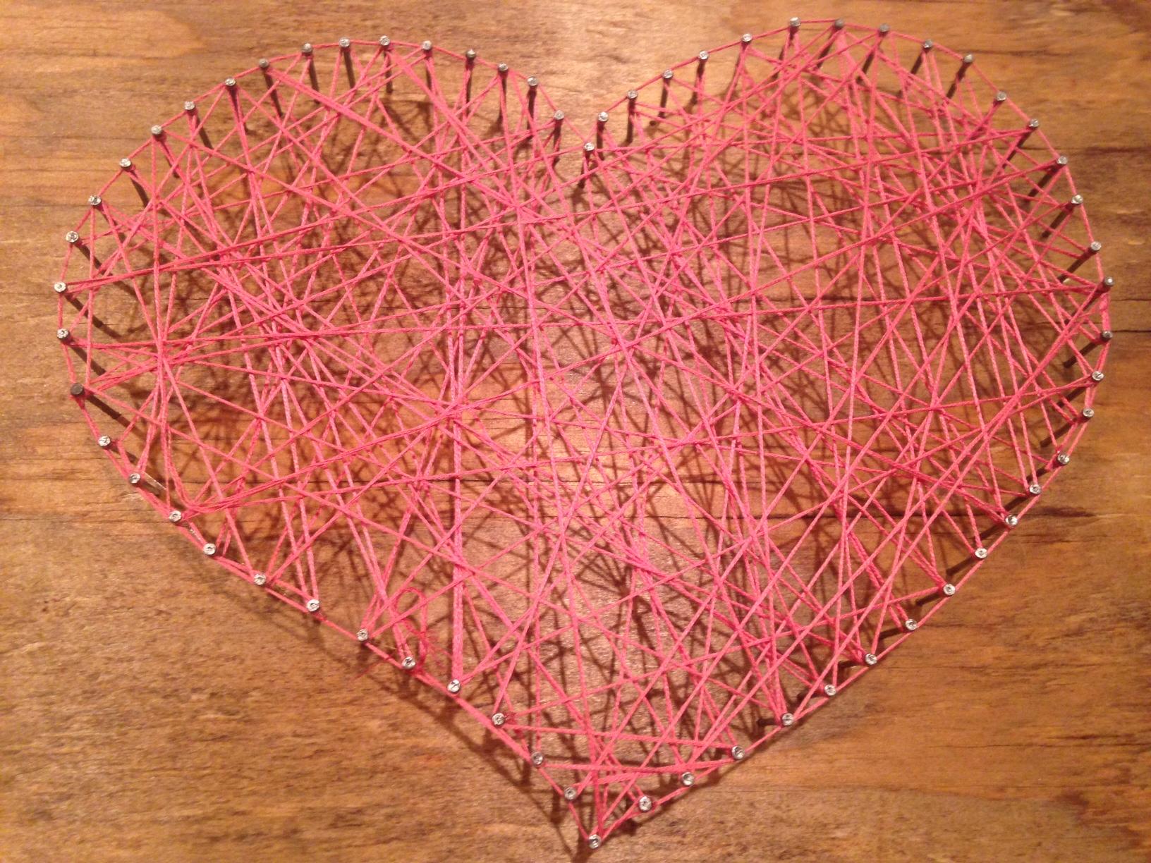 Image 1 of DIY String Heart