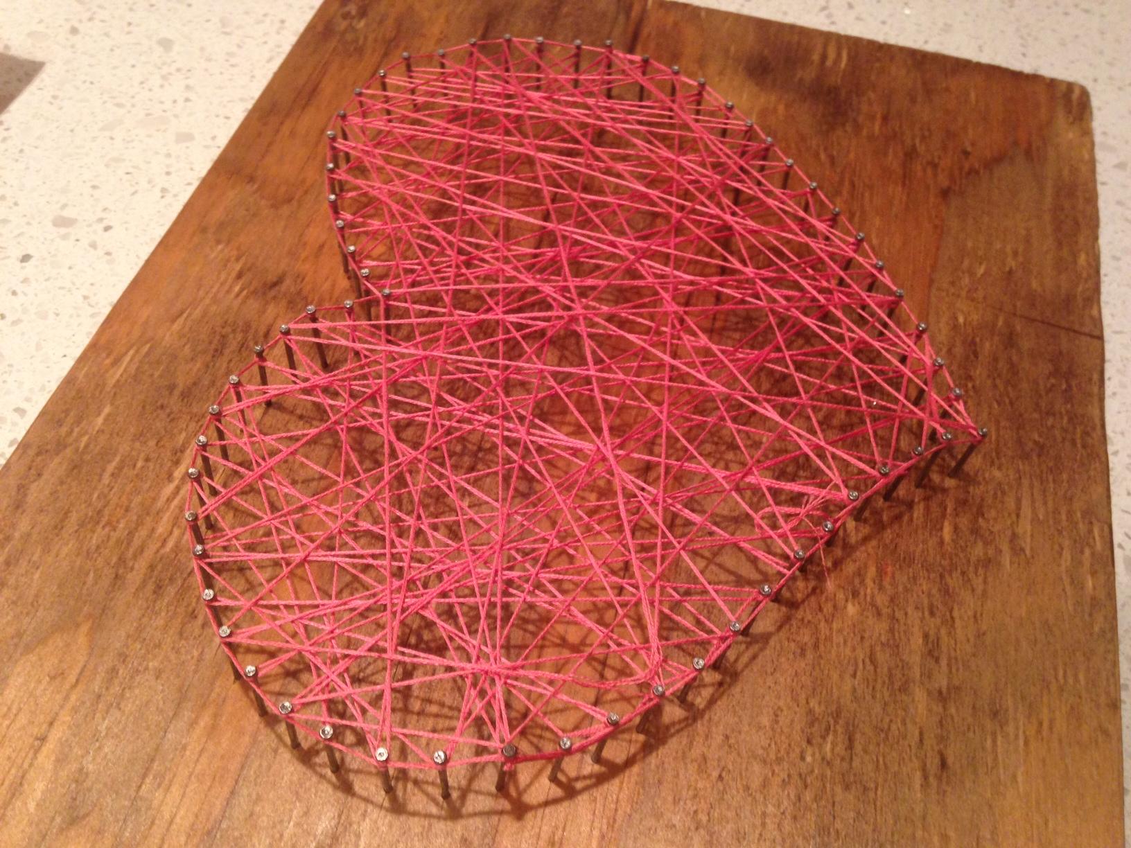 Image 2 of DIY String Heart