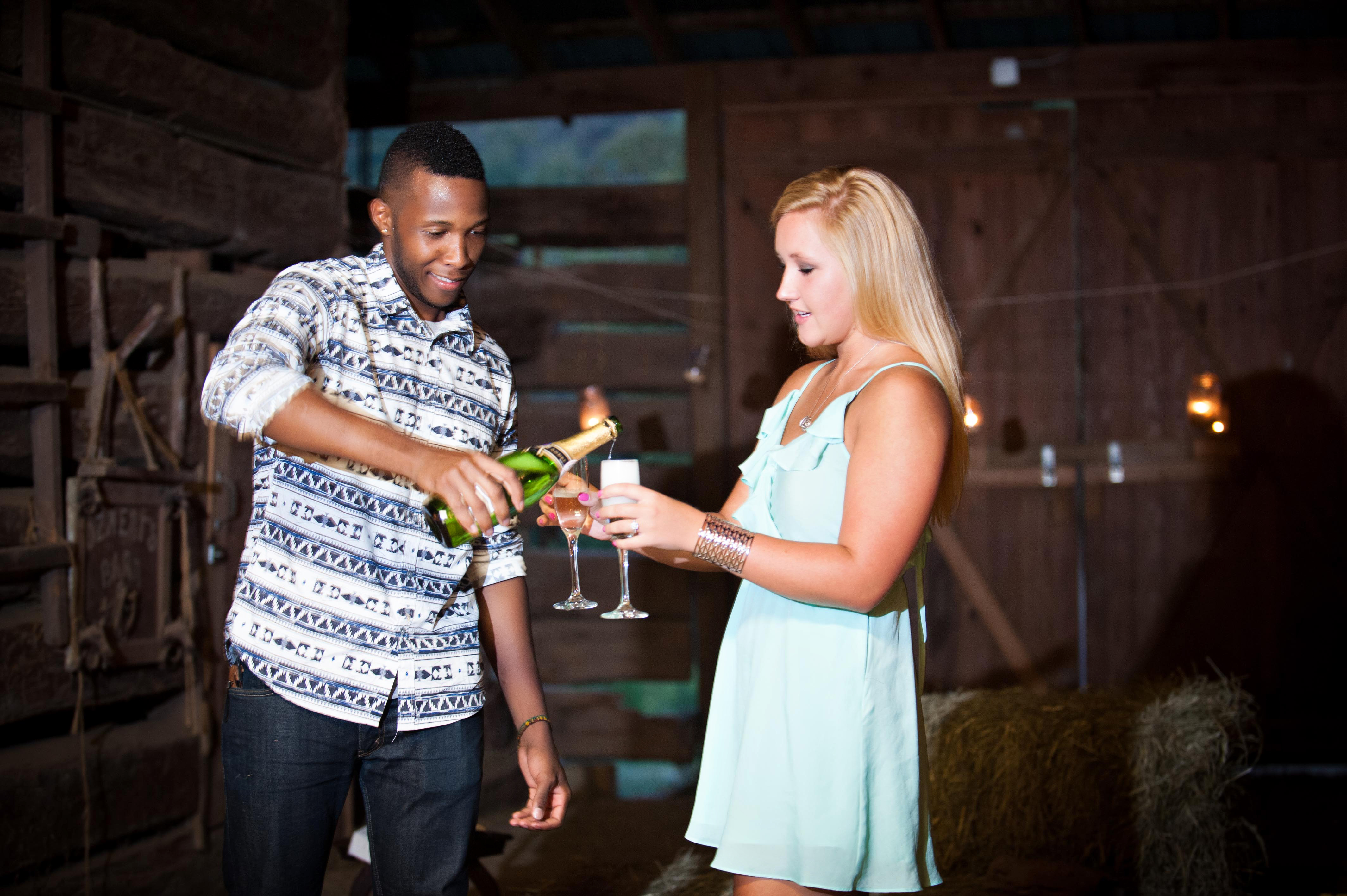 Image 16 of Jessica and De'Angelo | Barn-Style Proposal