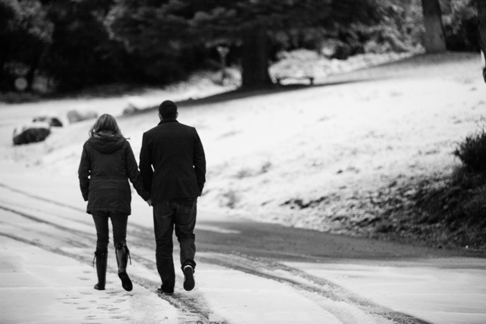 Image 2 of Josh and Natalie | Snowy Surprise Proposal