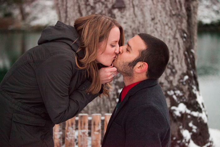 Image 8 of Josh and Natalie | Snowy Surprise Proposal