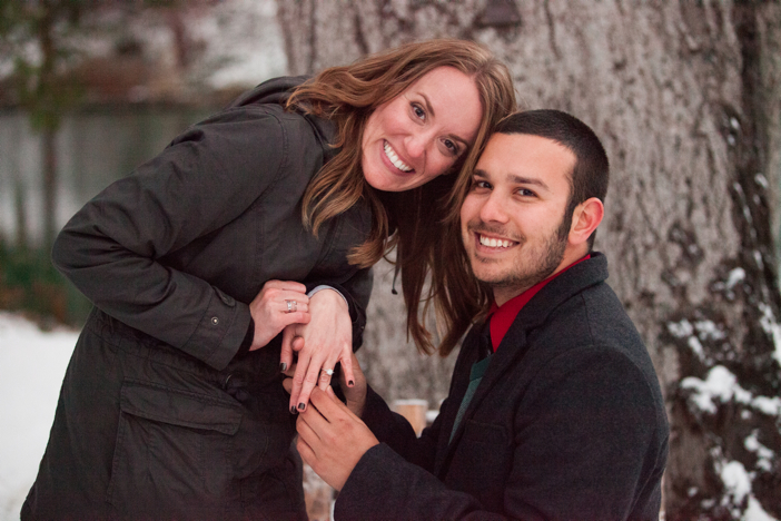 Image 16 of Josh and Natalie | Snowy Surprise Proposal
