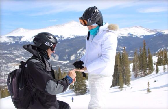 Image 4 of GoPro Captures Lesley and Jason's Proposal
