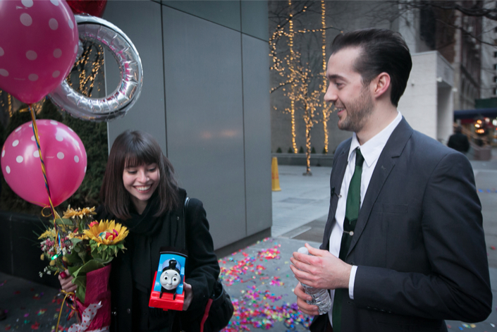 Image 6 of Nicole and Matt | Creative Toy Marriage Proposal