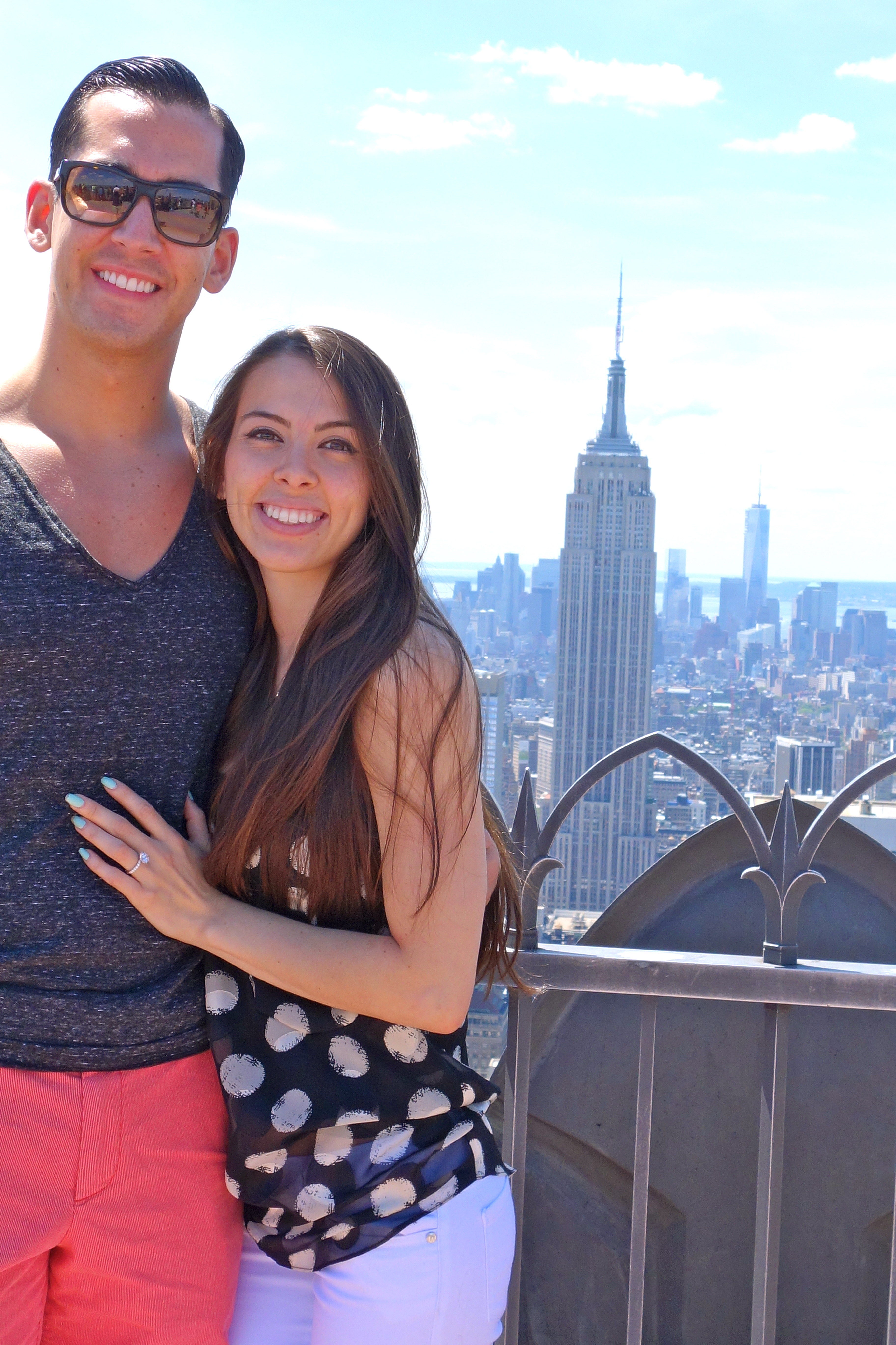 Image 1 of Shasling and David | Top of The Rock Proposal