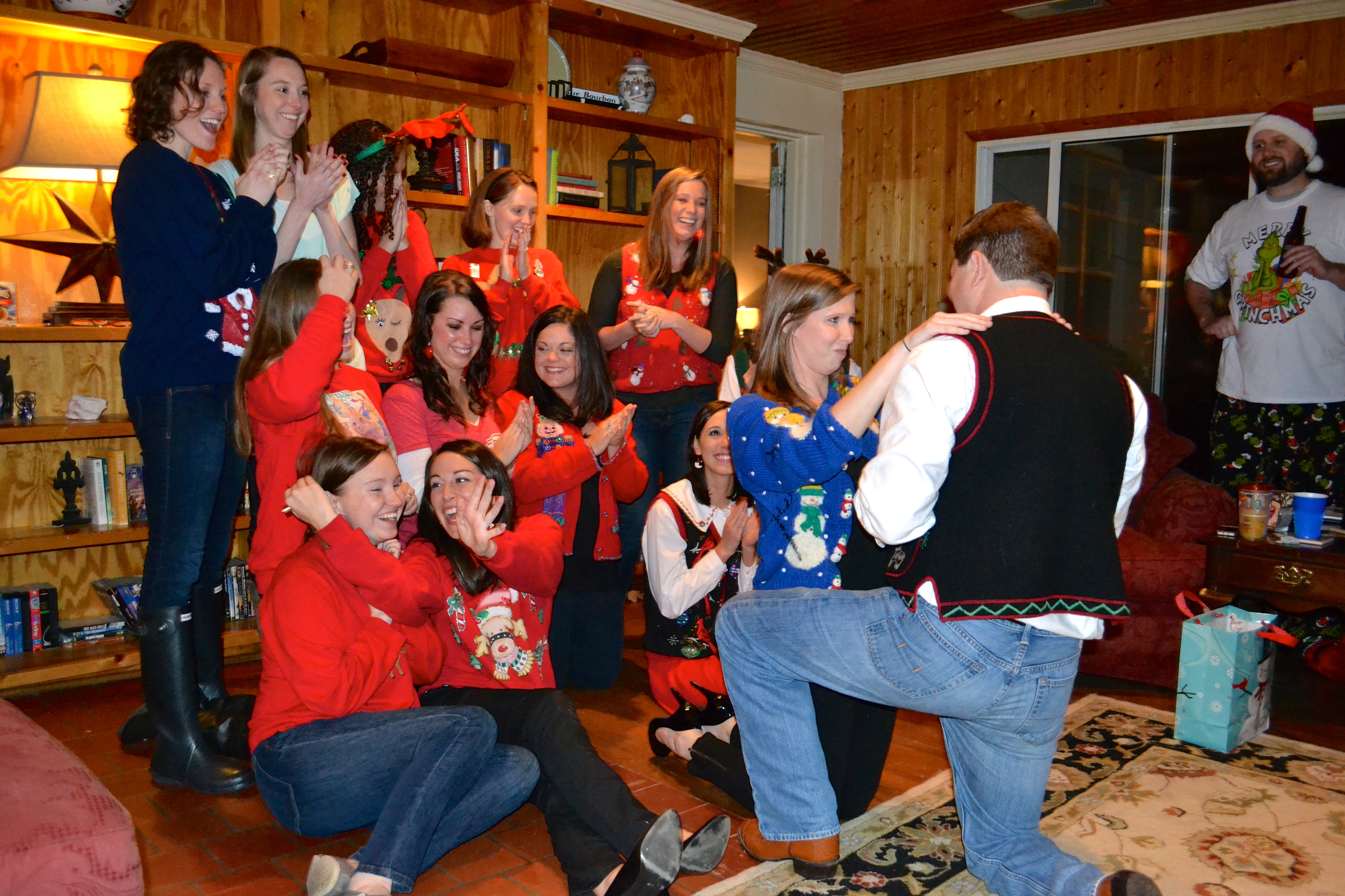 Image 2 of Meredith and Josh | Christmas Party Proposal