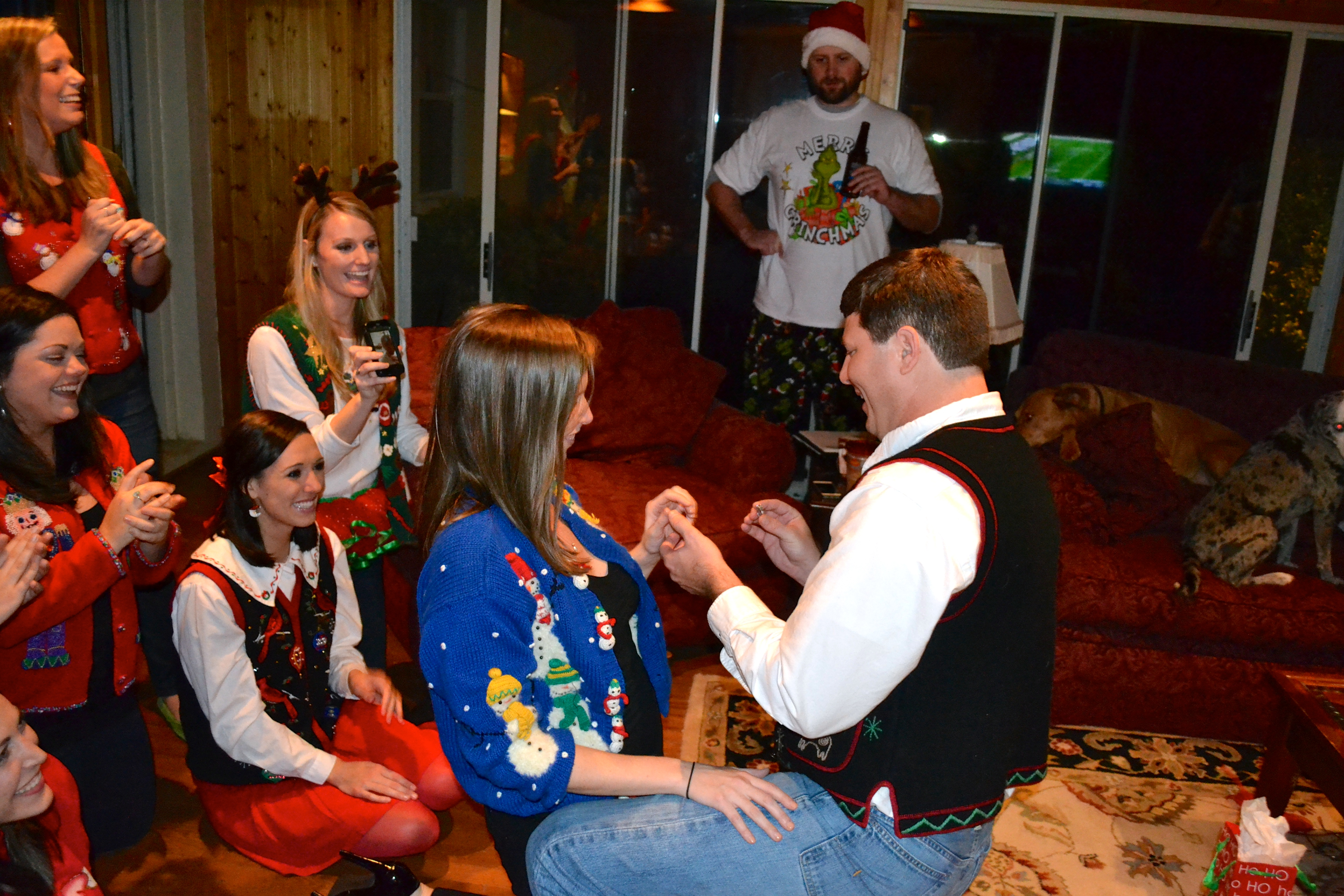 Image 3 of Meredith and Josh | Christmas Party Proposal