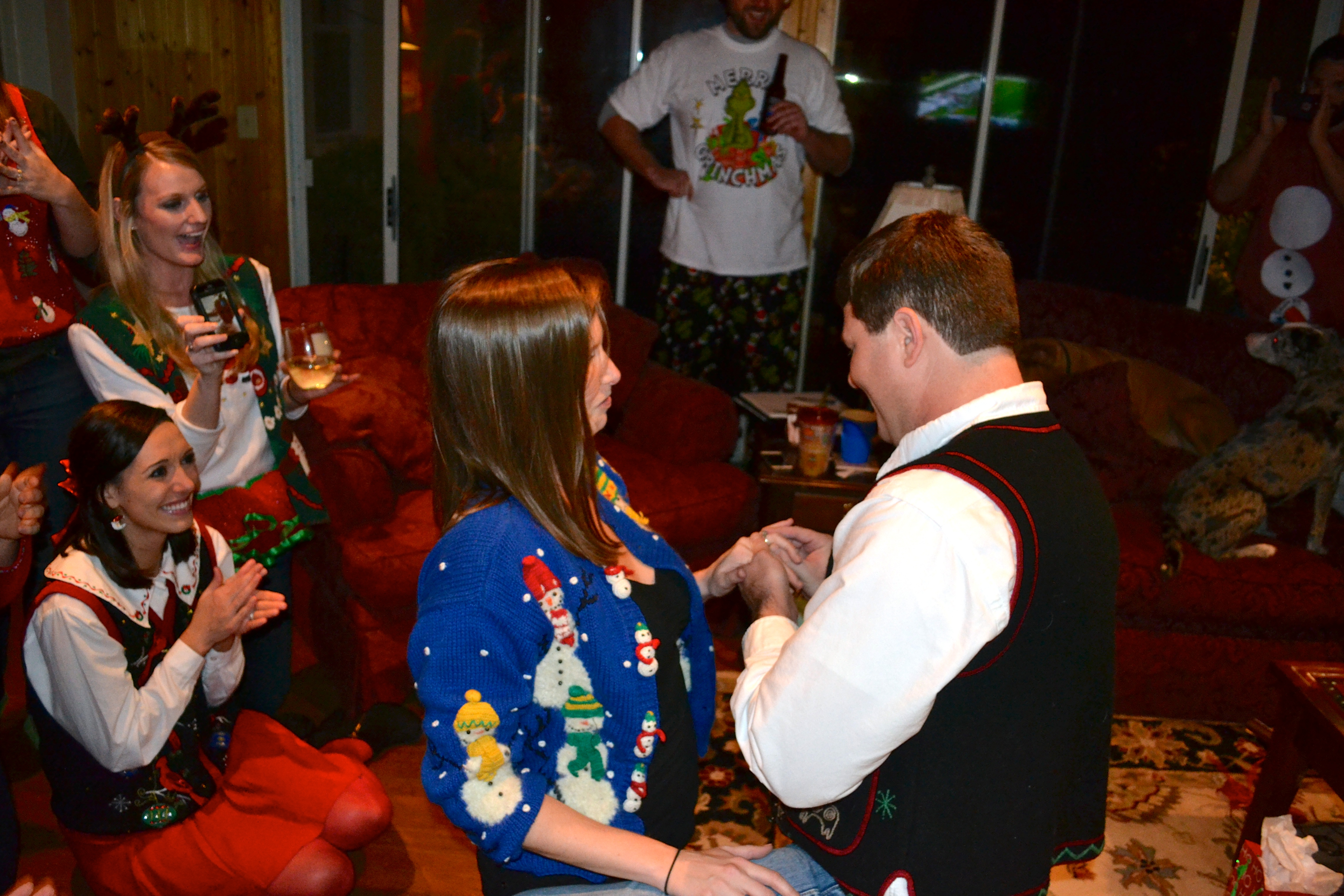 Image 4 of Meredith and Josh | Christmas Party Proposal