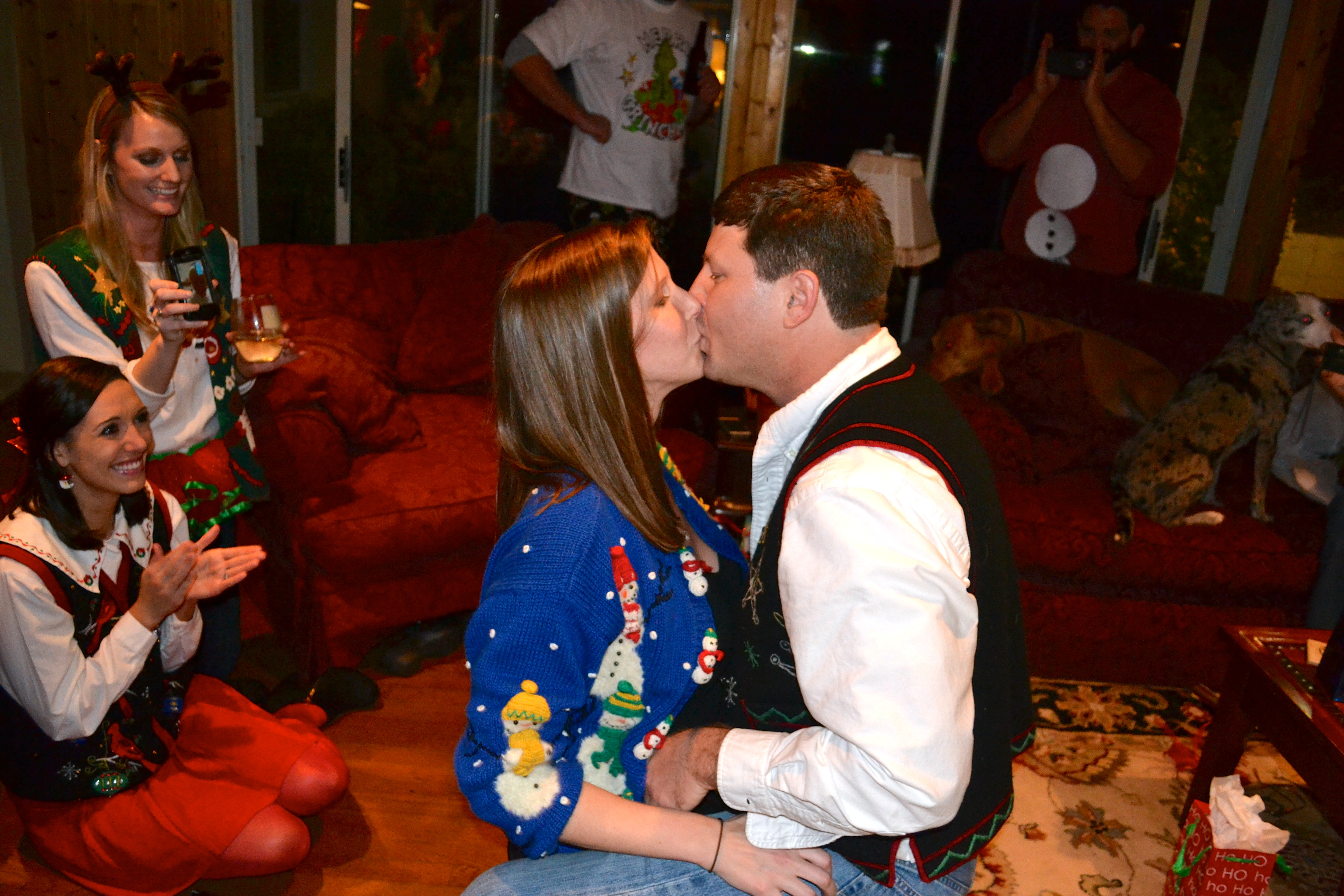 Image 5 of Meredith and Josh | Christmas Party Proposal
