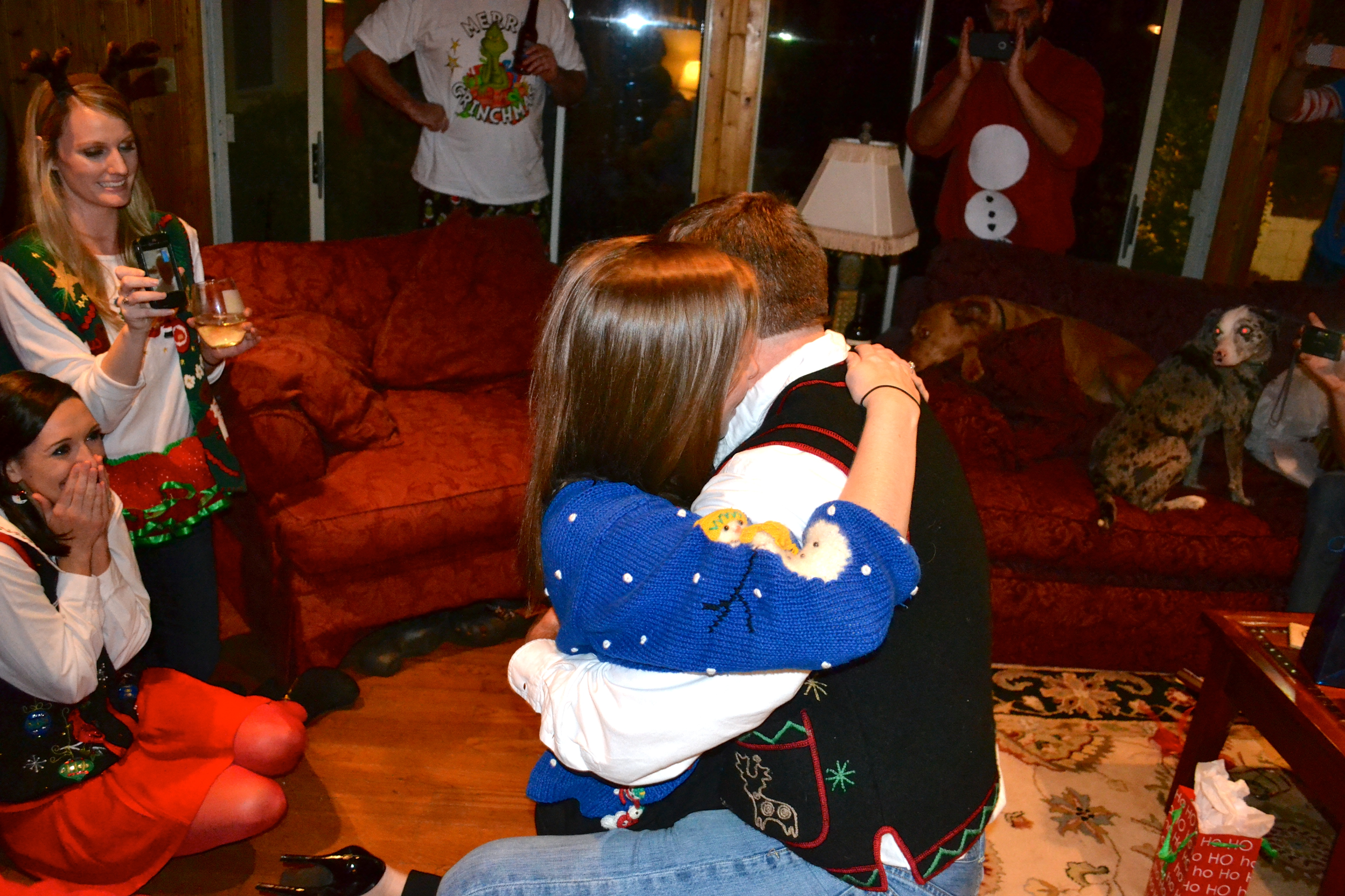 Image 6 of Meredith and Josh | Christmas Party Proposal