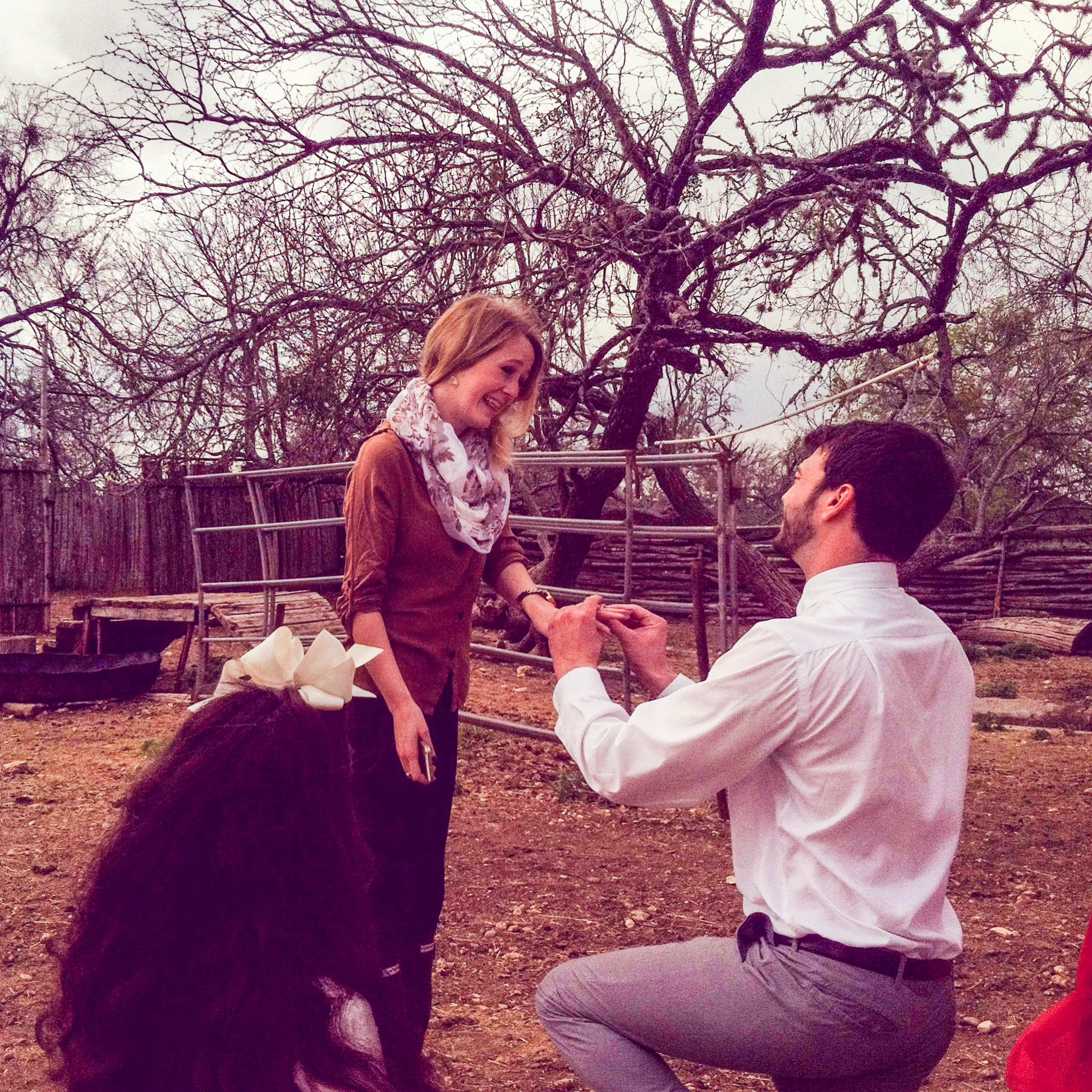 Image 9 of Kids Help With The Proposal in The Cutest Way Imaginable