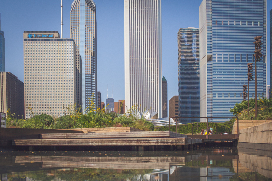 Image 1 of Millenium Park Proposal in Chicago