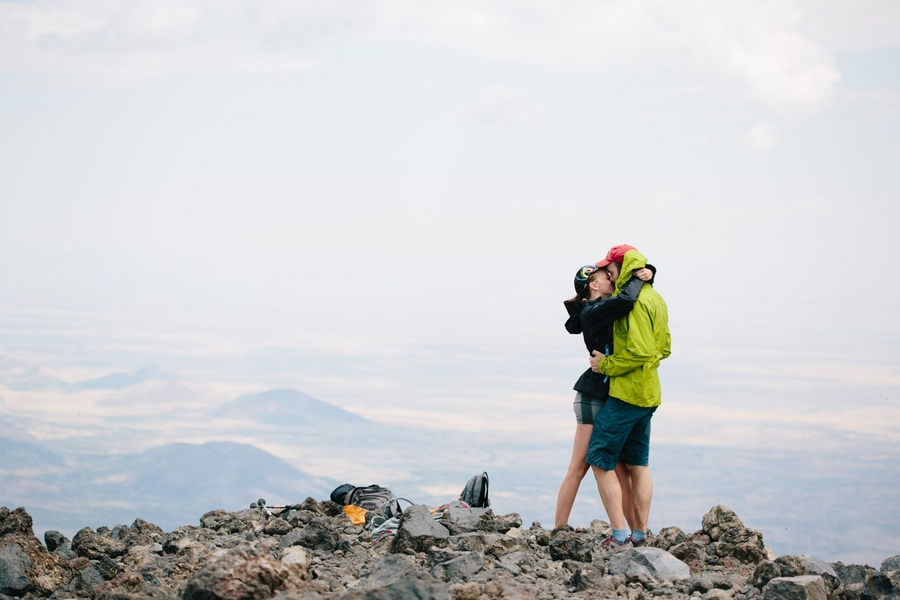 Image 12 of Mountain Top Marriage Proposal