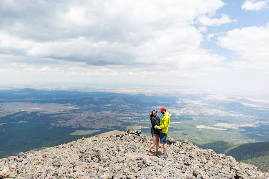 Mountain Top Marriage Proposal_ow