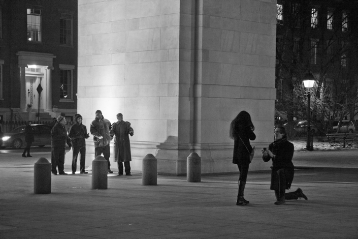 Image 3 of Derek and Steph | Washington Square Park Proposal