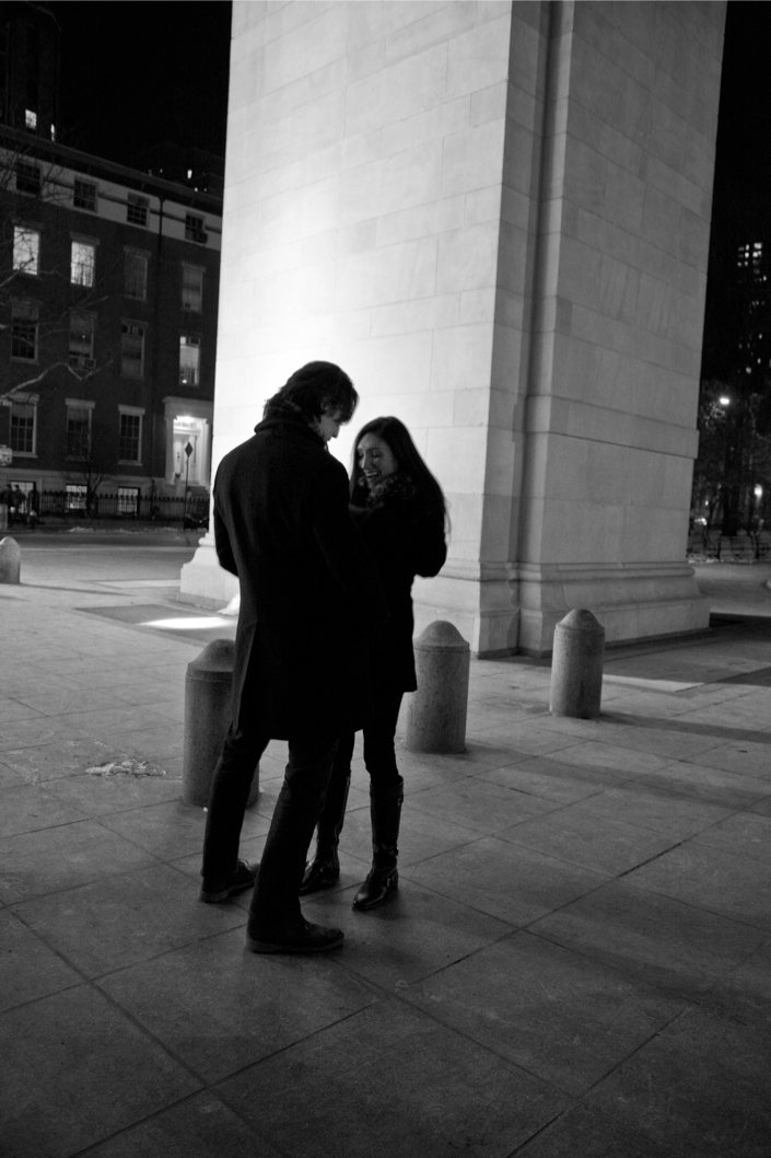 Image 2 of Derek and Steph | Washington Square Park Proposal