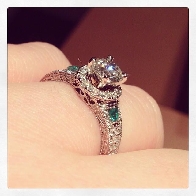 best engagement rings on instagram_9