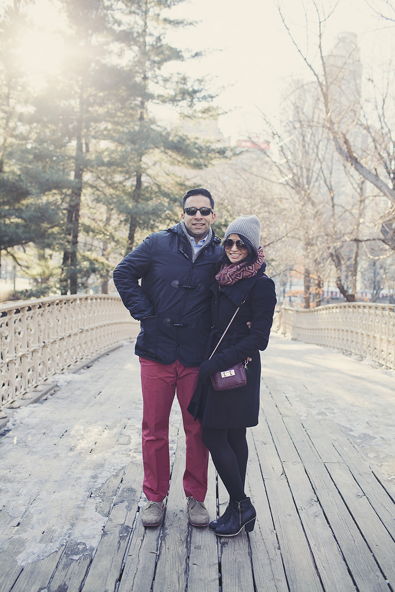 Image 3 of Pooja and Aanand | A Central Park Proposal Story