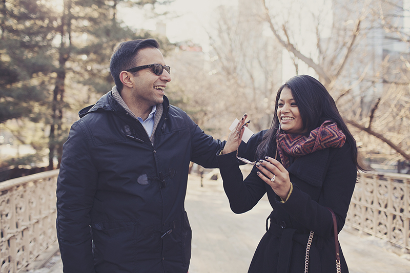 Image 19 of Pooja and Aanand | A Central Park Proposal Story